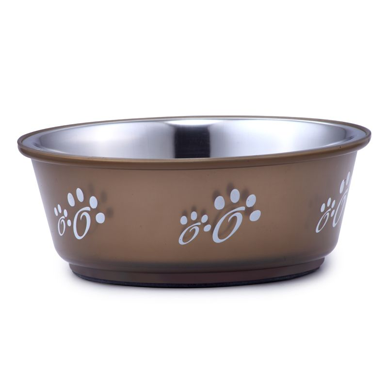 Миска для животных Foxie Fusion Bowl металлическая 800мл миска outwell collaps bowl l plum 650474