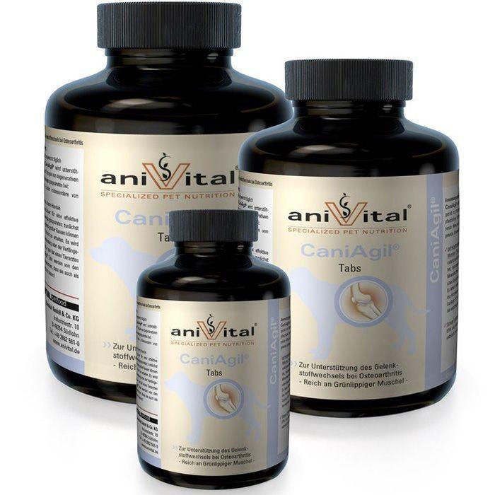 Витаминный комплекс AniVital CaniAgil для суставов собак, 520гр 225 таб.