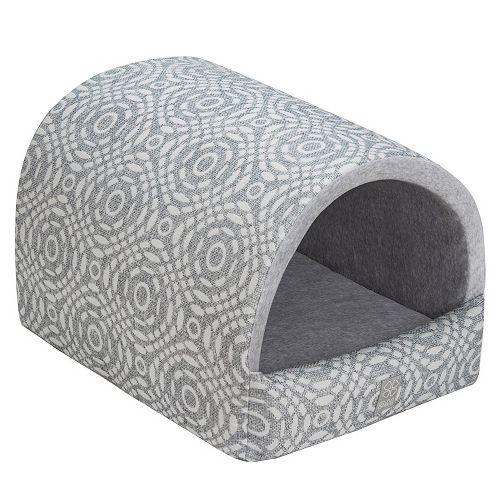 Домик для кошек Dogmoda Home Классика Грей 43x53x35см цена 2017