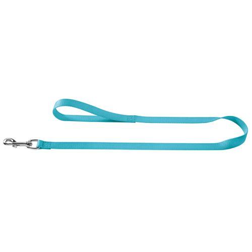 Поводок для собак HUNTER Ecco Sport 20/110, нейлон бирюзовый