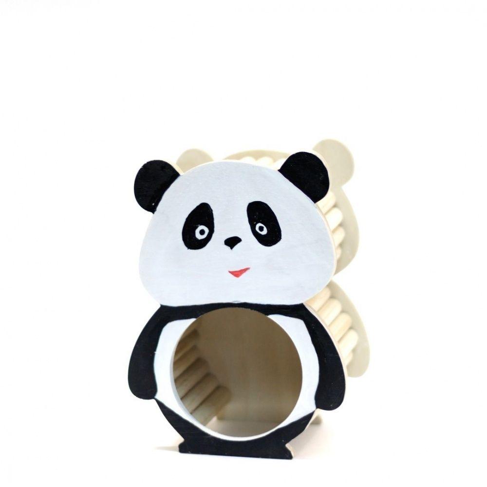 Домик для грызунов DoradoWooD Норка-укрытие Панда