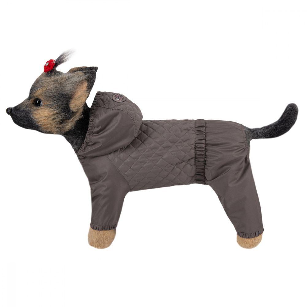 Комбинезон для собак Dogmoda Денди коричневый (унисекс) 2 24см комбинезон для собак dogmoda велюровый зайка 2 24см