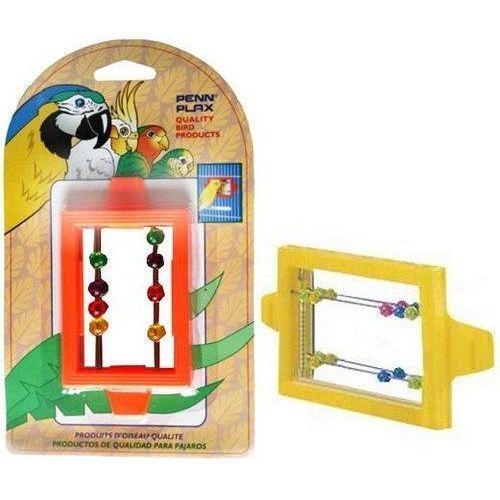 Игрушка для птиц PENN-PLAX ВА507 Зеркало с бусинками penn plax переноска клетка penn plax для грызунов и птиц большая