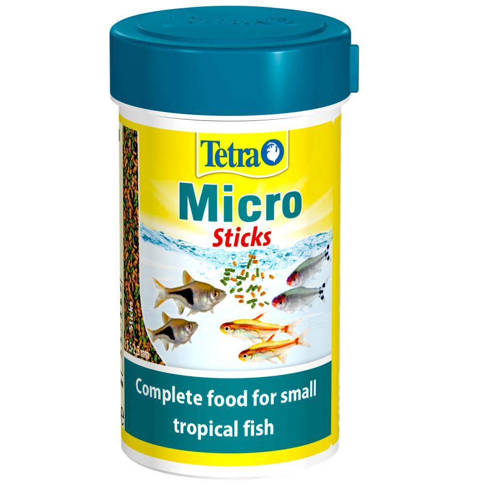 Корм для рыб TETRA Micro Sticks 100мл