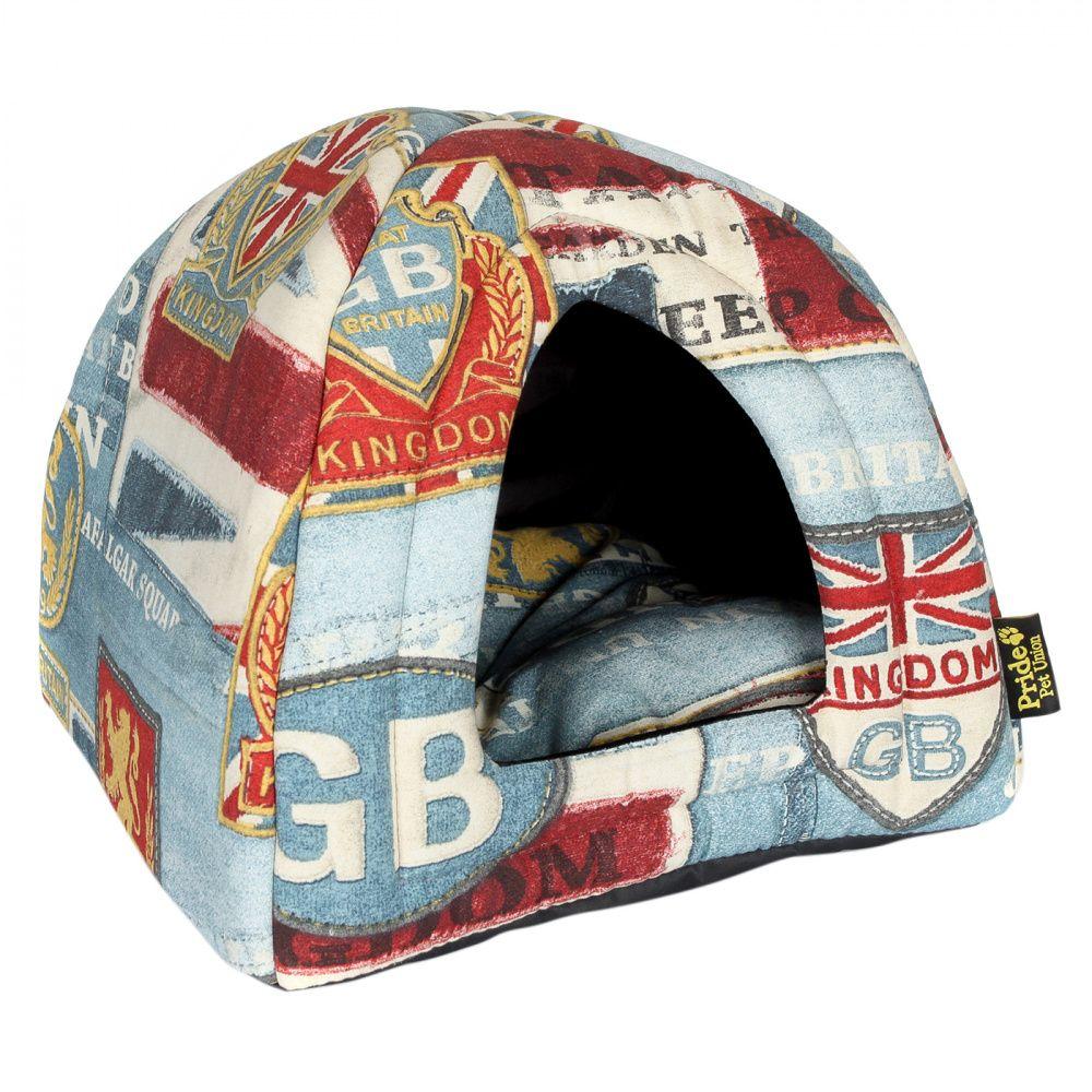 Купить со скидкой Домик для собак Винтаж Pride Британия 40х40х40см