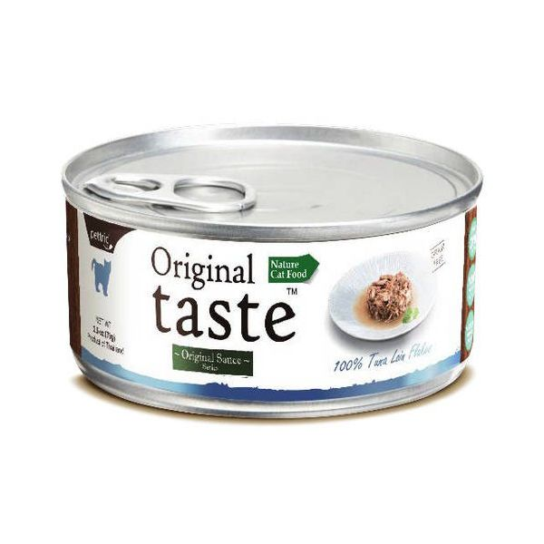 Корм для кошек Pettric ORIGINAL TASTE тунец в соусе конс.