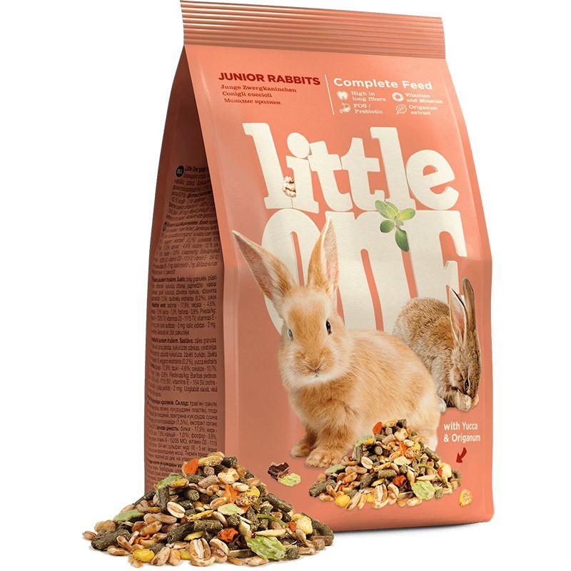 Корм для грызунов Little one для молодых кроликов 400г