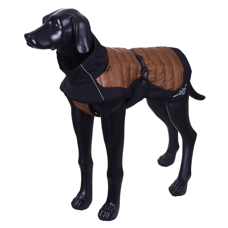 цена Куртка для собак RUKKA Airborn Hybrid зимняя 25см коричневая онлайн в 2017 году