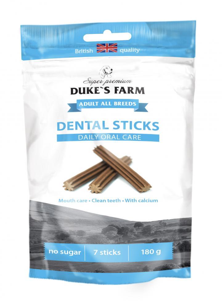 Лакомство для собак DUKE'S FARM Dental Sticks для поддержания здоровья полости рта медведев а 25 точек для управления психикой и поддержания здоровья