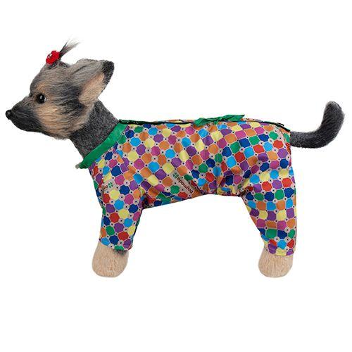 Комбинезон для собак Dogmoda Мозайка-2 24см комбинезон для собак dogmoda велюровый зайка 2 24см