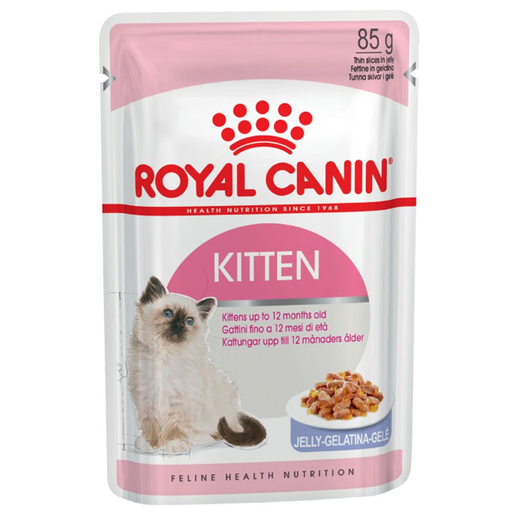 Корм для котят ROYAL CANIN Kitten Instinctive от 4 до 12 месяцев, в желе конс. 85г