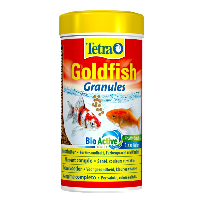 Корм для рыб TETRA Goldfisch granules в гранулах для золотых рыб 250мл корм для рыб jbl novopearl для золотых рыб в гранулах 100мл 35г