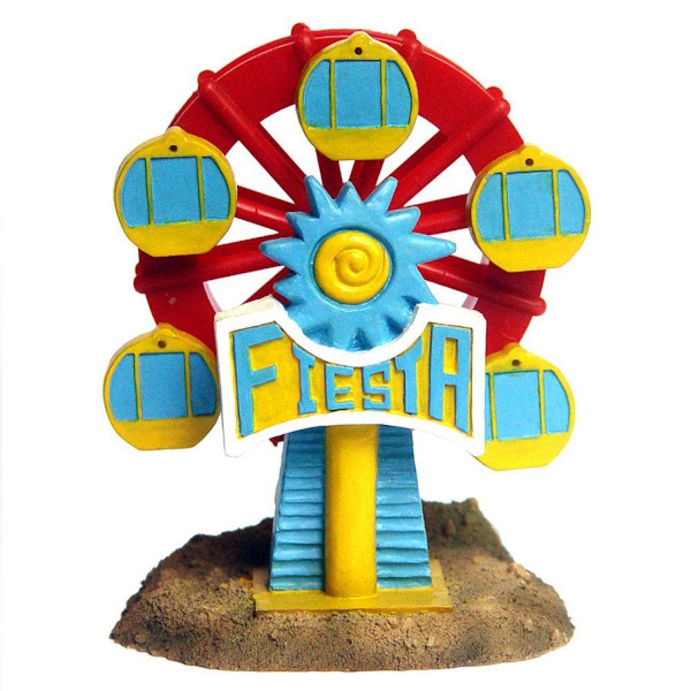 Декор для аквариумов PRIME Колесо обозрения 9,7х9х12см игровой набор famosa пинипон колесо обозрения