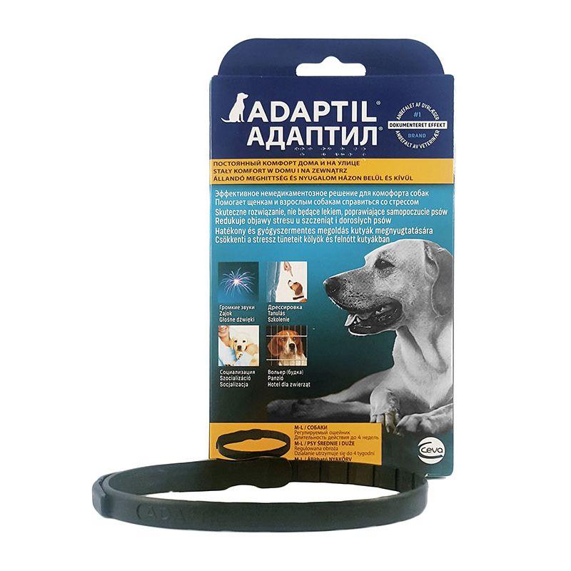 Ошейник для собак CEVA Adaptil успокаивающий с феромонами, размер L до 50 килограмм