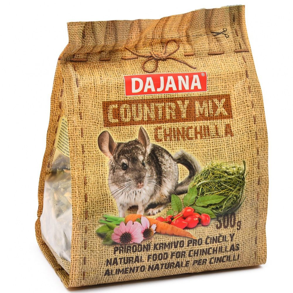 Корм для грызунов DAJANA Country Mix для шиншилл сух. 500г