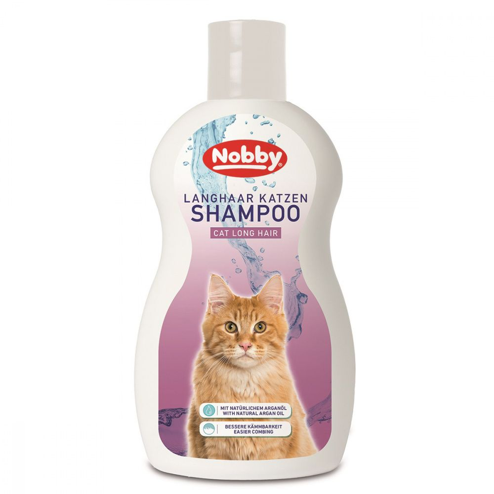 Шампунь для кошек Nobby Cat с аргановым маслом 300мл недорого