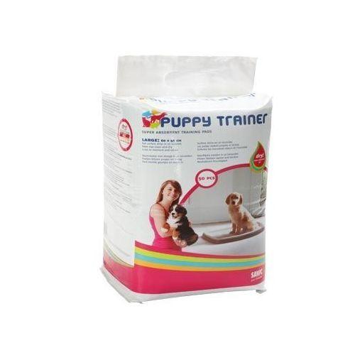 Пеленки для щенков крупных пород SAVIC Puppy Trainer впитывающие, 50шт