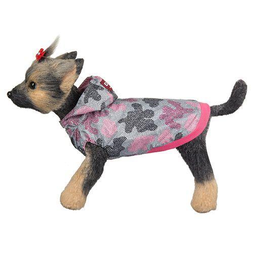 Ветровка для собак Dogmoda Мегаполис розовая, размер 3 28см комбинезон для собак dogmoda мегаполис унисекс цвет синий размер xxl