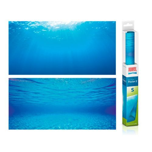 Фон-пленка JUWEL Poster голубая вода 60х30см