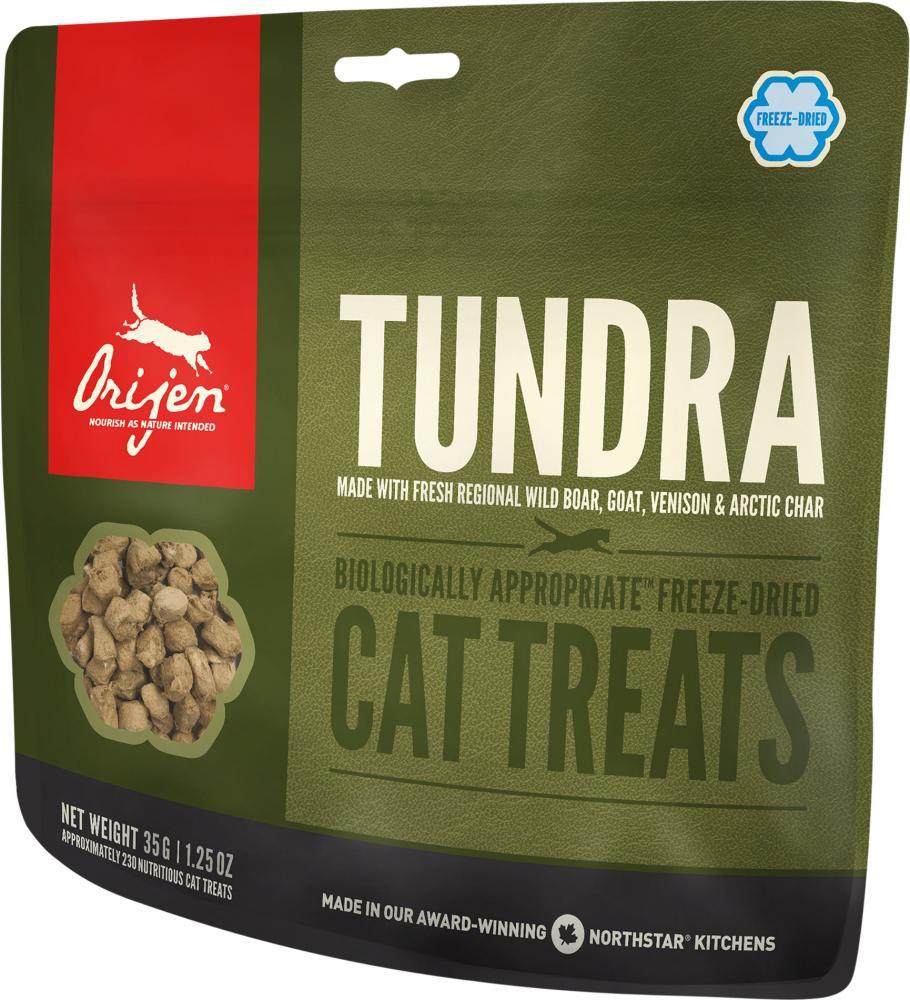 Лакомство для кошек Orijen Tundra 35г цена