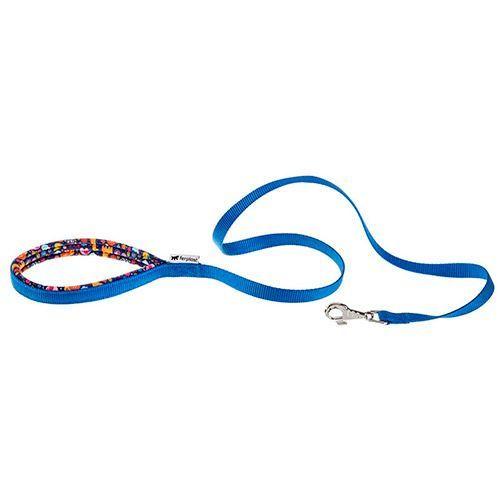 Поводок для собак FERPLAST Daytona Fantasy G20/120 синий, нейлон