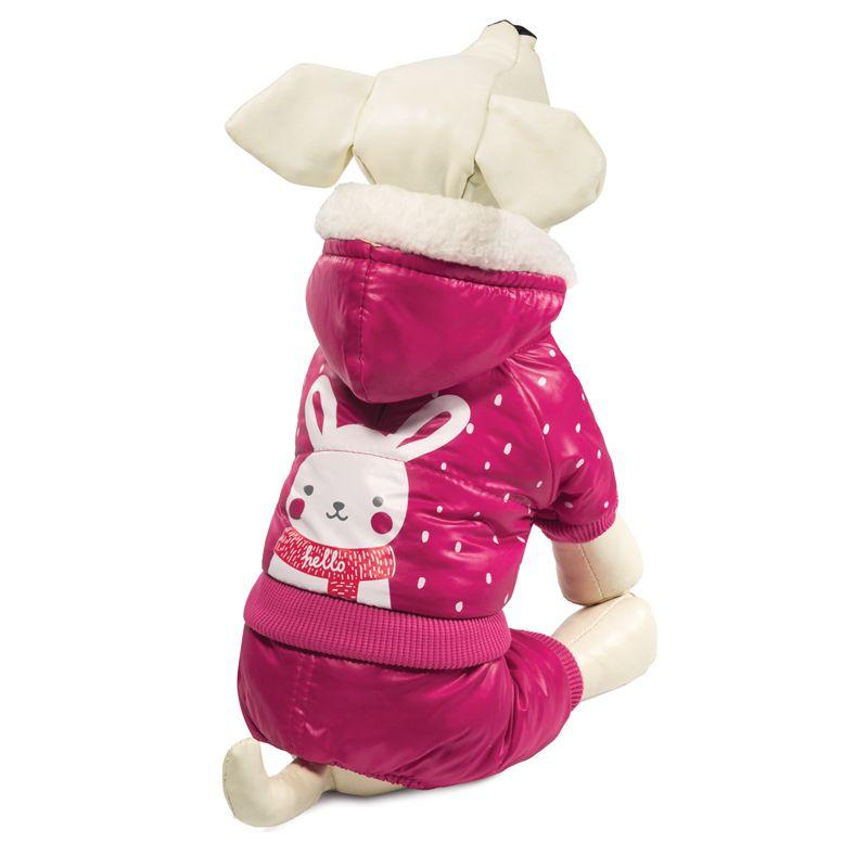 Комбинезон для собак TRIOL зимний Зайка S, размер 25см