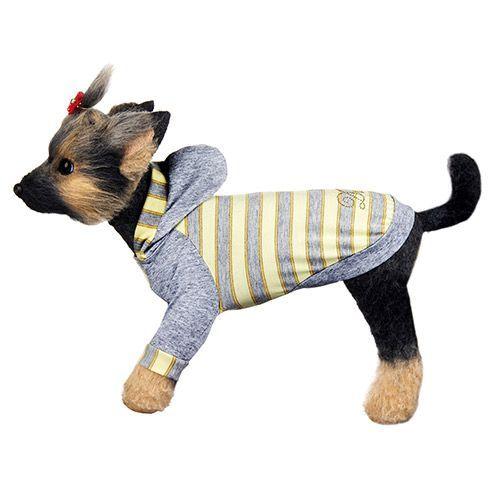 Футболка для собак Dogmoda Грей размер 3 шлейка для собак dogmoda лаки размер 3 l