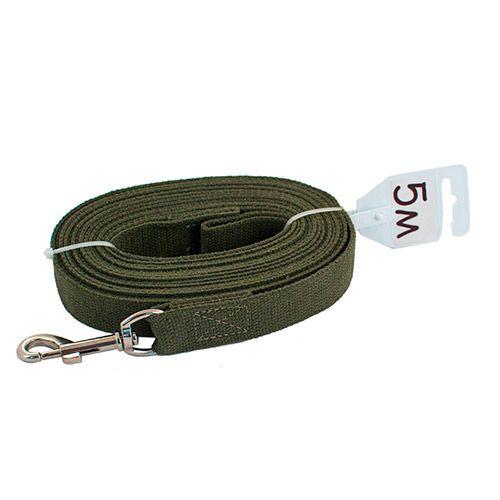 Поводок для собак ЧИП брезентовый 25ммх7,0м