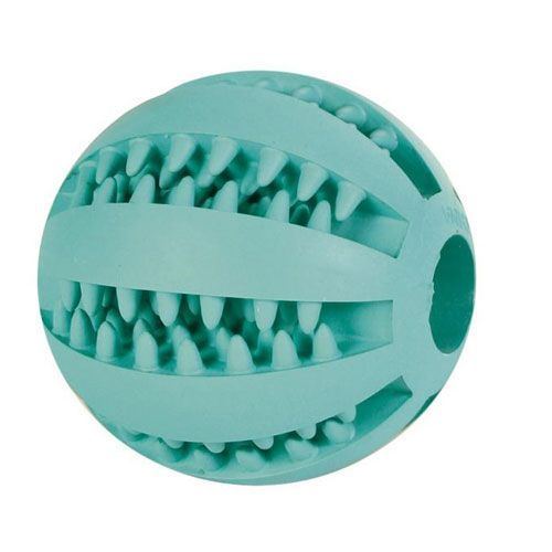 Игрушка для собак TRIXIE Мяч DentaFun бейсбольный,резина 6,5см