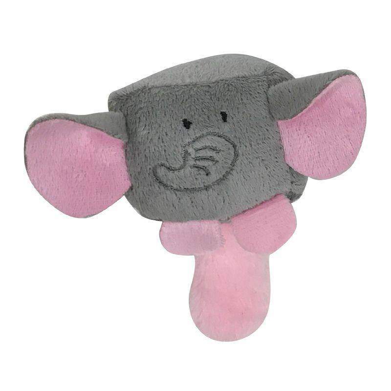 Игрушка для собак CHOMPER Mini Plush Слон плюш с пищалкой 6 см игрушка для собак 1 лягушонок с пищалкой 6 см