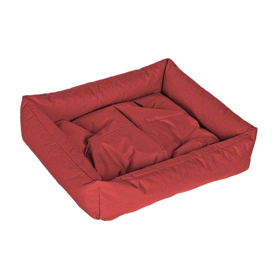 Лежак для собак HAPPY PUPPY Бронебой красный 50х50 домик для собак геометрия happy puppy горошек бежевый 40х40х40см