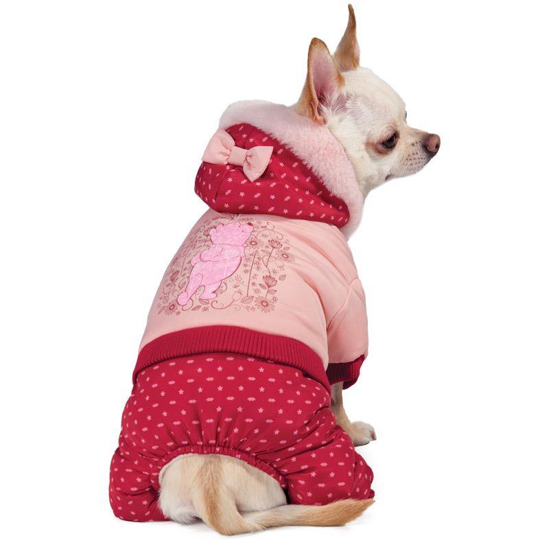 Комбинезон для собак TRIOL Disney Winnie-the-Pooh зимний Pink M, размер 30см