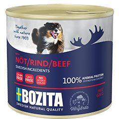 Корм для собак BOZITA мясной паштет c говядиной конс. 625г