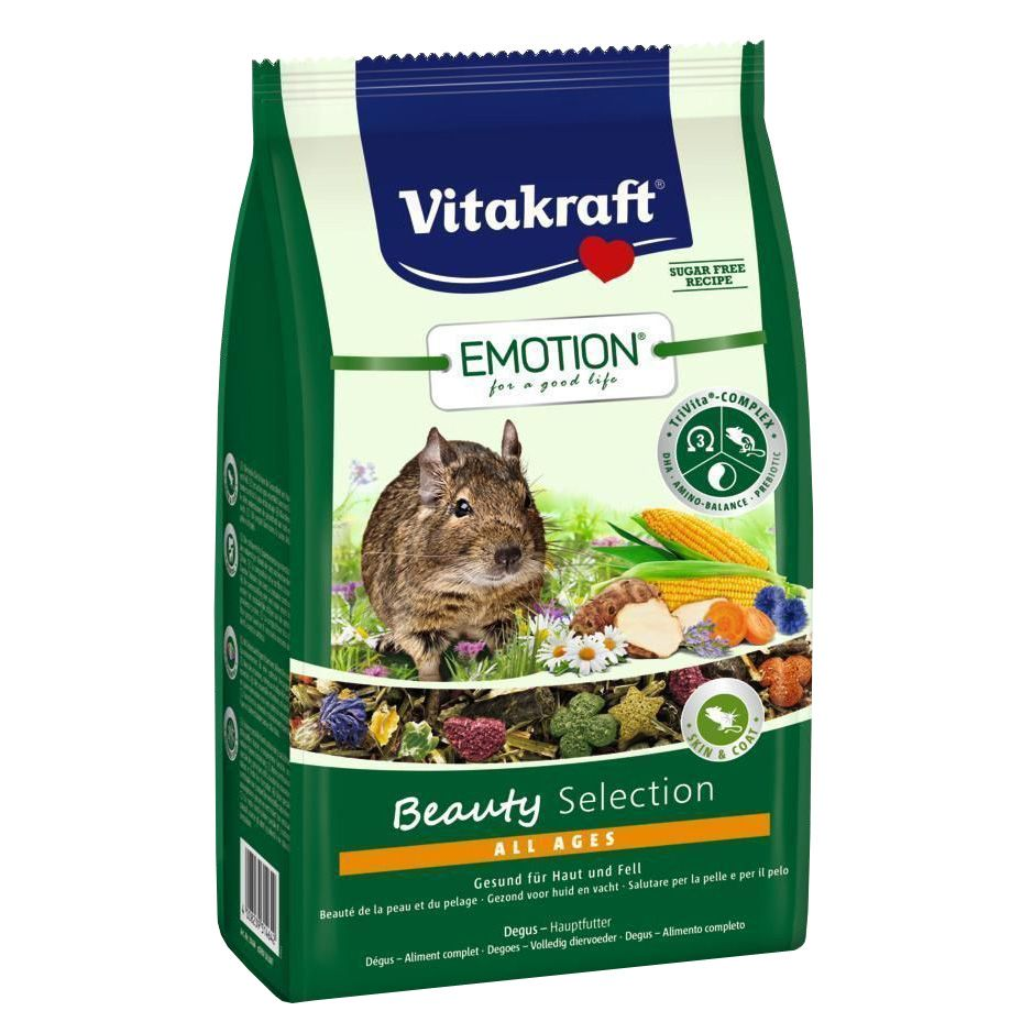 Фото - Корм для грызунов VITAKRAFT Beauty Selection для дегу корм для грызунов vitakraft для дегу сух 600г
