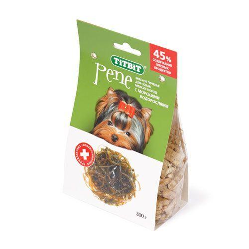 Лакомство для собак TITBIT Печенье PENE с морскими водорослями цена