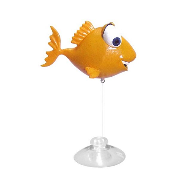 Декор для аквариумов PRIME Рыбка (игрушка-поплавок) 7х6х8,2см
