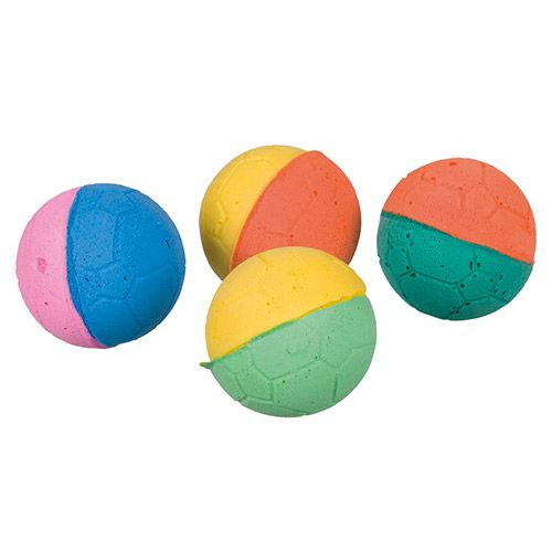 Игрушка для кошек TRIXIE Мягкие шарики 1шт. поролон, ф 4,3см игрушка для кошек trixie набор мини мышек 5см 1шт