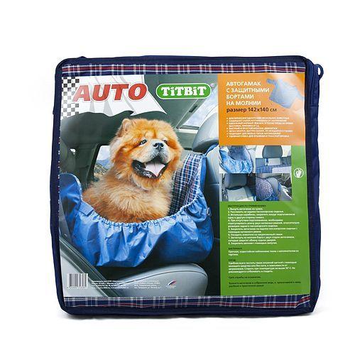 Автогамак для собак TITBIT с бортами