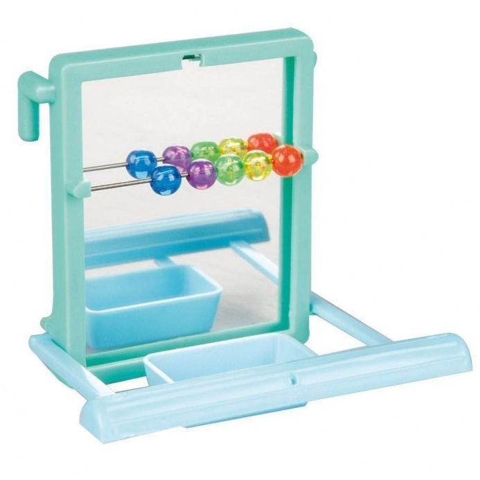 Игрушка для птиц Karlie Flamingo Зеркало со счетами игрушка для птиц zoobaloo зеркало африка высота 17 см