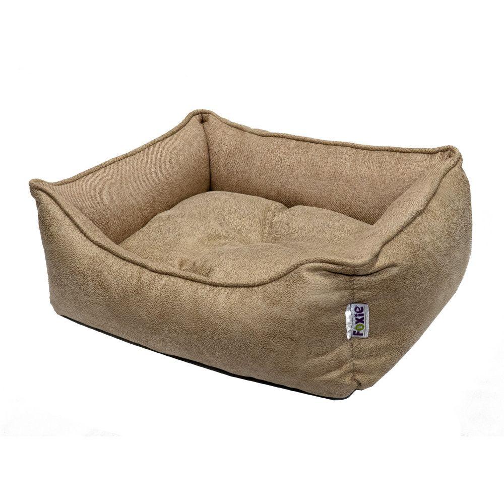 Лежак для животных Foxie Colour 52x41х10см бежевый