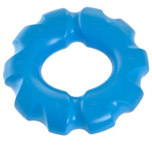 Игрушка для собак MAJOR Кольцо 14см с пищалкой TPR синее printio синее сердце