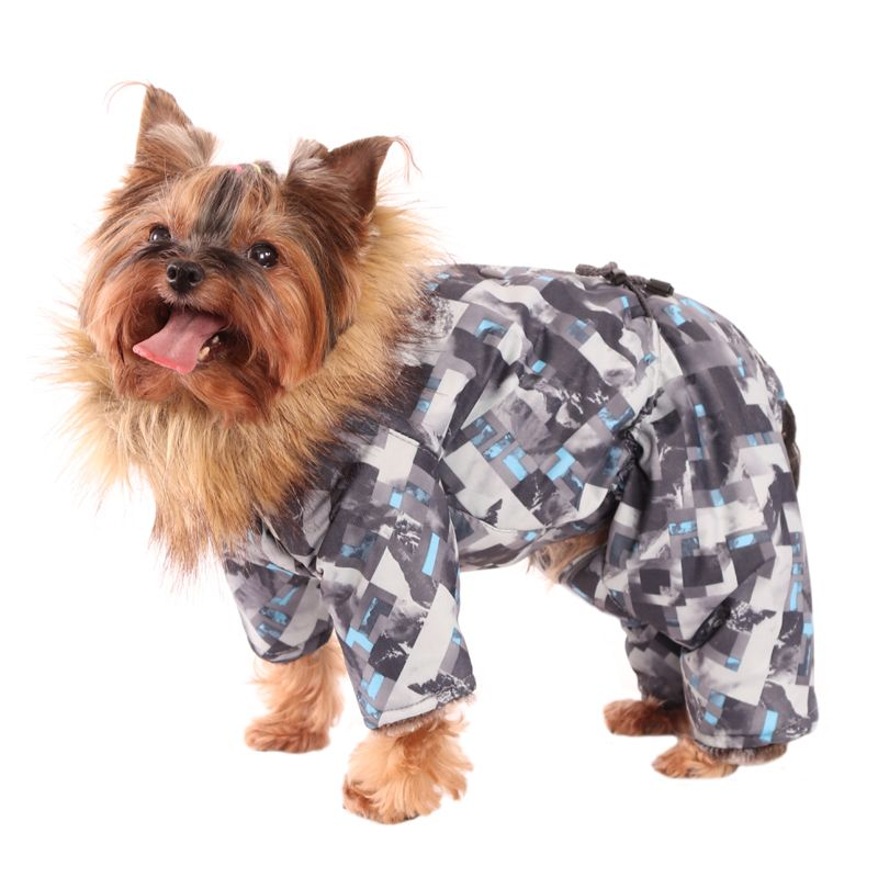 цена на Комбинезон для собак YORIKI Экскалибур мал. L 28 см