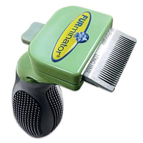 Фото - Фурминатор для собак FURminator для длинношерстных карманных 3см фурминатор для собак furminator для длинношерстных мелких пород 4см