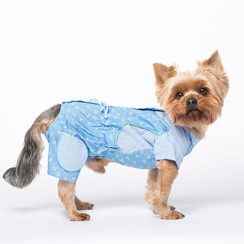 Комбинезон для собак YORIKI Юнга мальчик размер L