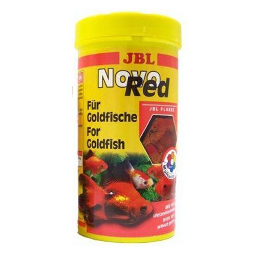 Корм для рыб JBL NovoRed Основной для золотых рыб в форме хлопьев, 250мл. (40г) корм для рыб jbl novogranocolor основной в форме гранул для яркой окраски рыб в банке 250мл 120г
