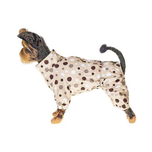Комбинезон для собак HAPPY PUPPY Конфетти-3 28см лежак для собак happy puppy узоры 3 57х44х15см