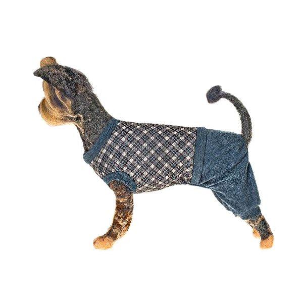 Костюм шерстяной для собак HAPPY PUPPY Шерлок-4 32см(Шерлок-4 32см)