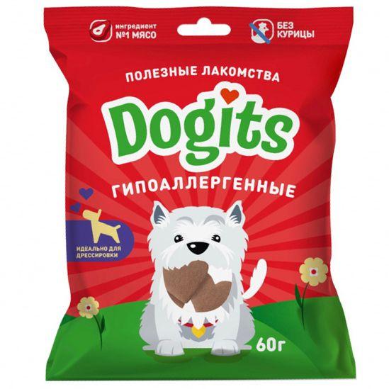 Лакомство для собак Dogits функциональное гипоаллергенное 60г