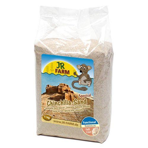 Наполнитель для грызунов JR Farm песок для шиншилл 1кг аттапульгитовый