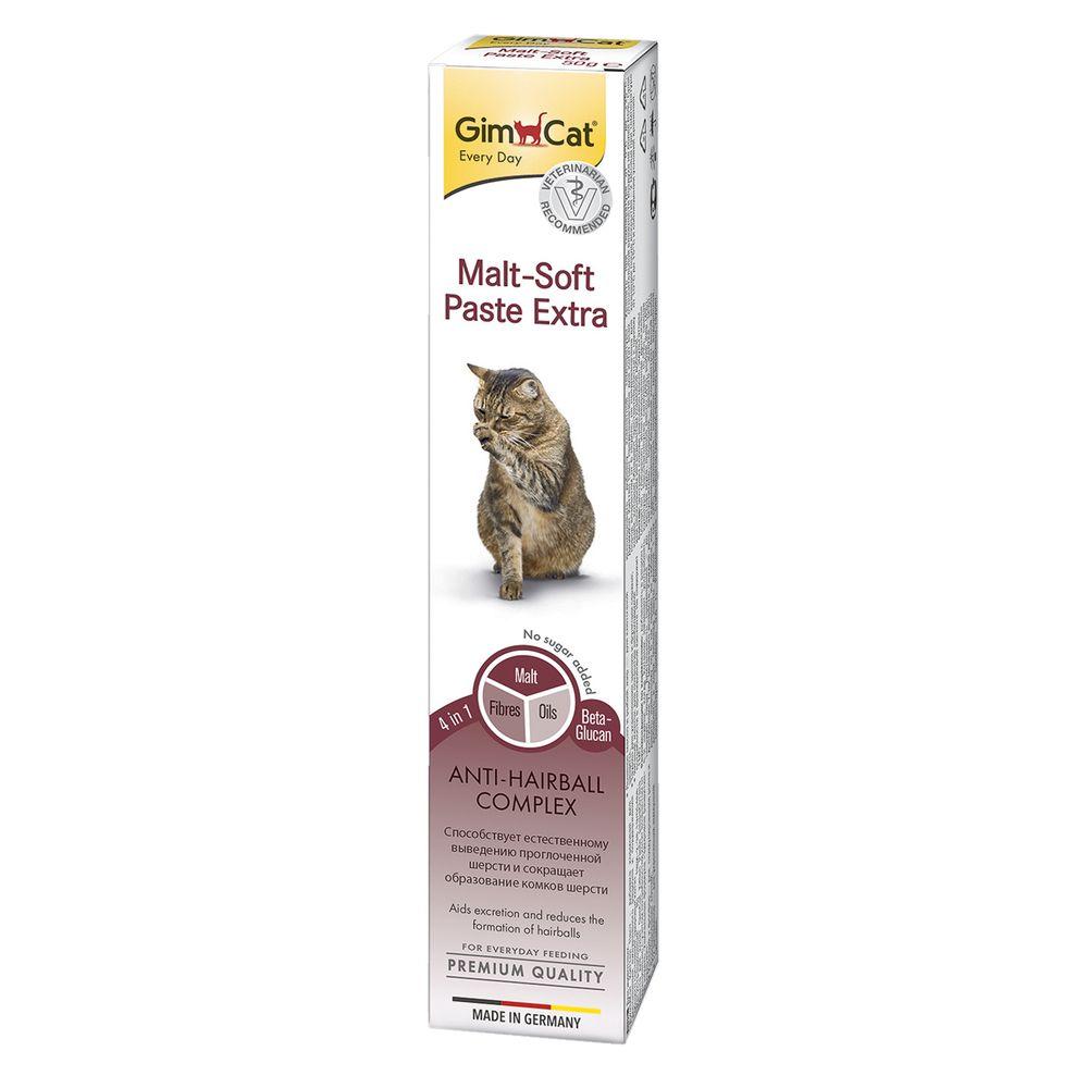 Паста для кошек GIMCAT Мальт-Софт-Экстра 50г финалгель 50г
